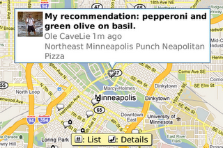 Chart: Google Maps - Punch Pizza