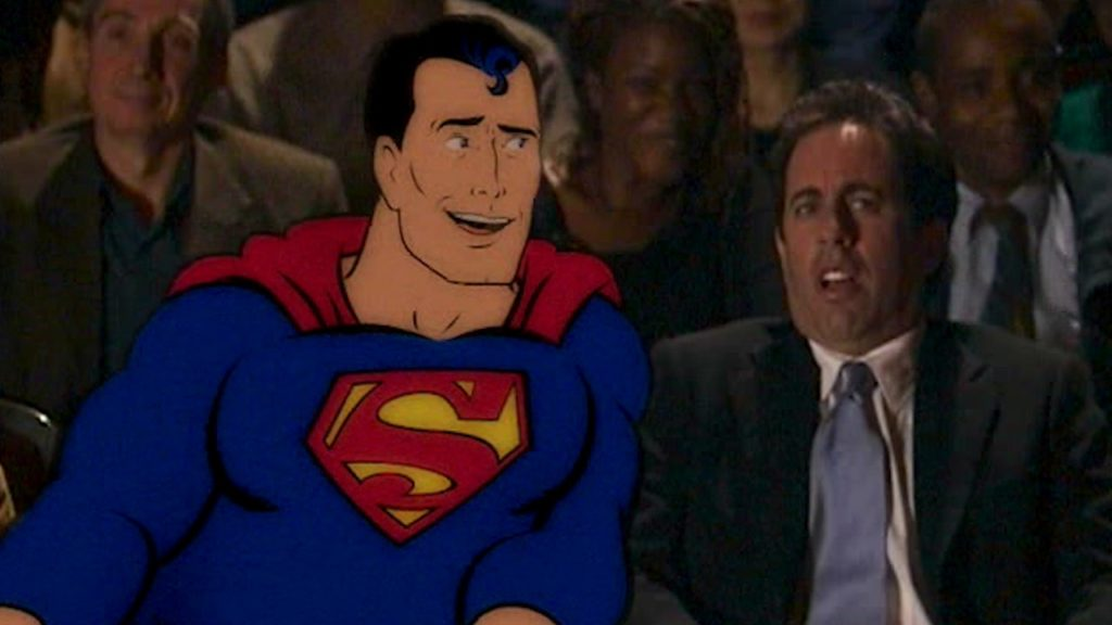 Superman & Jerry Seinfeld Commercial