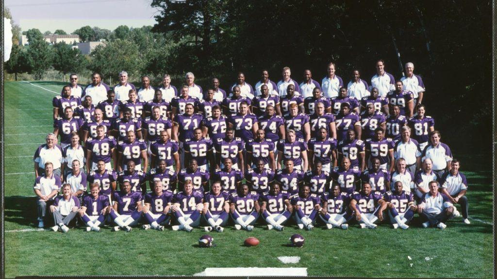 Photo: 1998 Minnesota Vikings